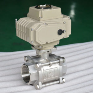 electric 3 pc ball valve 4