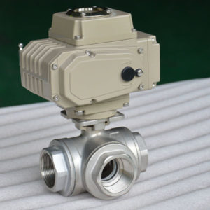 electric ball valve 3-way 3