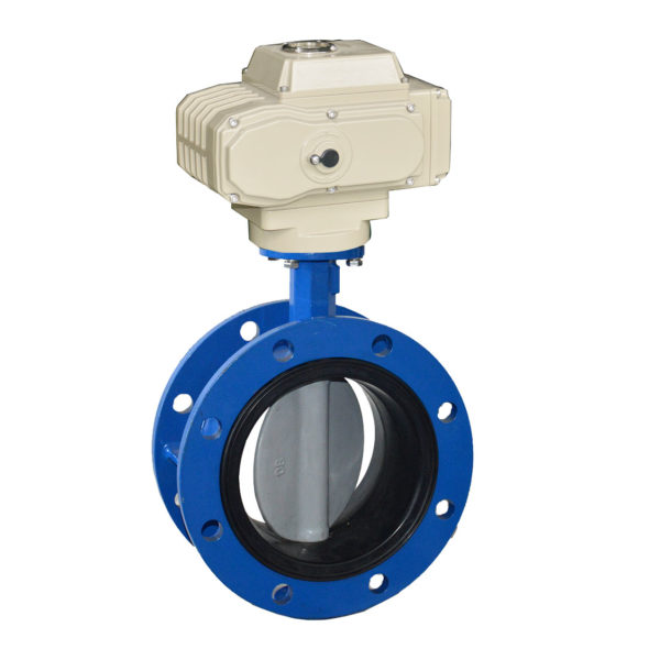 Electric flange butterfly valve