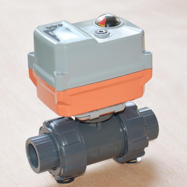 pvc Electric ball valve
