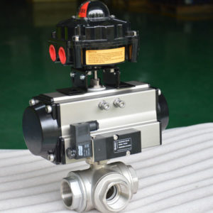 pneumatic ball valve 3-way